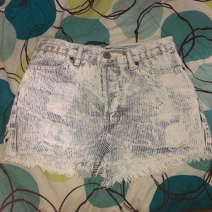 Brandy high waisted shorts